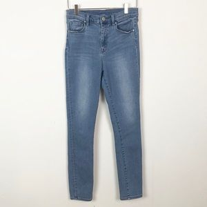 BDG Twig High Rise , light wash skinny jeans
